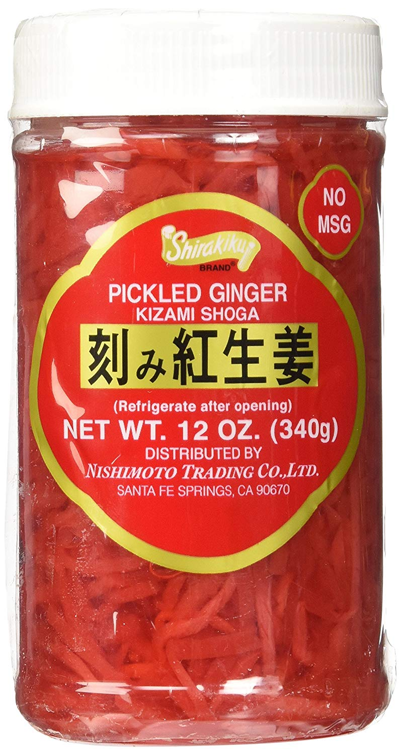 PICKLED GINGER KIZAMI BTL 12 OZ