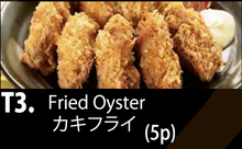 Load image into Gallery viewer, T3 カキフライ定食 Fried Oyster