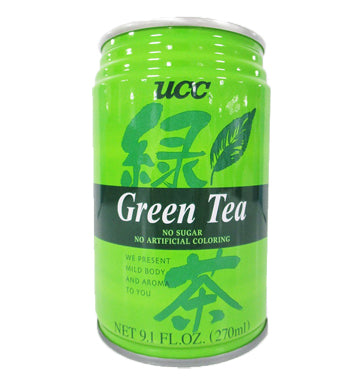 UCC GREEN TEA CAN