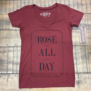 RETRO BRAND- ROSE ALL DAY TEE