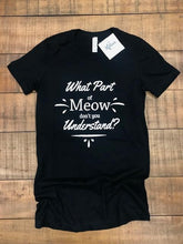 Load image into Gallery viewer, KITTIES- MEOW TEE