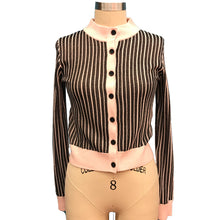 Load image into Gallery viewer, BALOOT- PINK & BLACK CARDIGAN