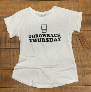 RETRO BRAND- THROWBACK THURSDAY- WHITE
