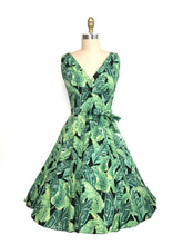 Load image into Gallery viewer, HEART OF HAUTE- MARIA PALM DRESS