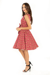 MISS LULO- RUBY FLORAL DRESS