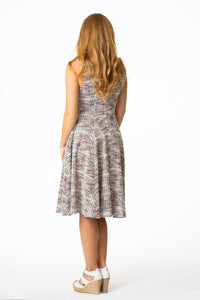 EVA ROSE- GRAY BOUCLE DRESS