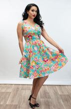 Load image into Gallery viewer, HEART OF HAUTE- PAISLEY ROSE DRESS