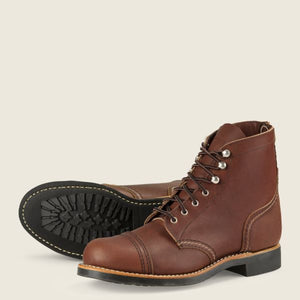 RED WING- IRON RANGER- AMBER