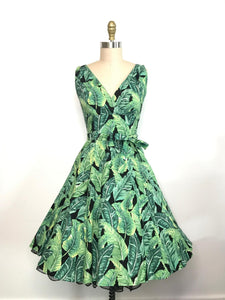 HEART OF HAUTE- MARIA PALM DRESS