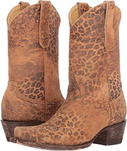 Load image into Gallery viewer, OLD GRINGO- LEOPARD COWBOY BOOTS