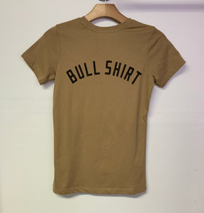 BEE & FOX- BULL SHIRT- LIGHT BROWN