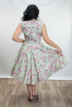 Load image into Gallery viewer, HEART OF HAUTE- SAGE ROSE DRESS