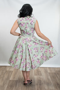 HEART OF HAUTE- SAGE ROSE DRESS