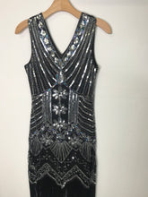 Load image into Gallery viewer, RELOVED- FLAPPER DRESS- SMALL