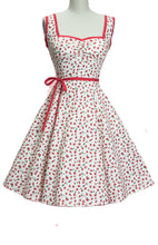 Load image into Gallery viewer, HEART OF HAUTE- SADIE STRAWBERRY DRESS