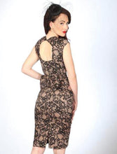 Load image into Gallery viewer, STOP STARING- LOVE LACE PRINT DRESS