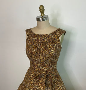 HEART OF HAUTE- LEOPARD AMANDA DRESS