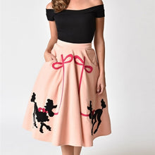 Load image into Gallery viewer, UNIQUE VINTAGE- SODA SHOP POODLE SKIRT