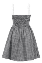Load image into Gallery viewer, DOUBLE TROUBLE- GINGHAM SWING DRESS