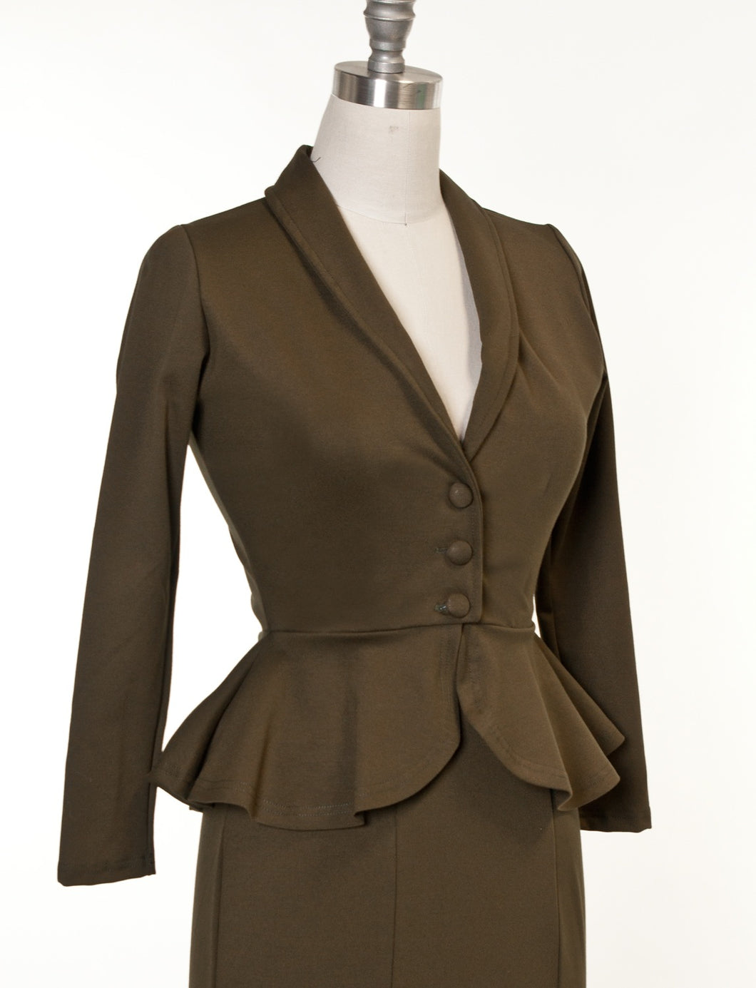 HEART OF HAUTE- DIVA JACKET OLIVE