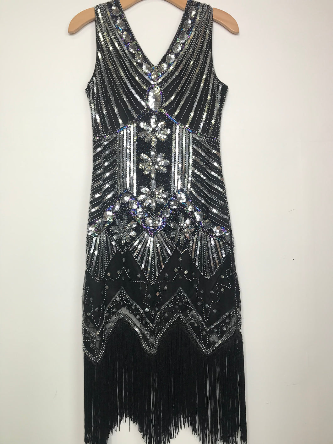 RELOVED- FLAPPER DRESS- SMALL