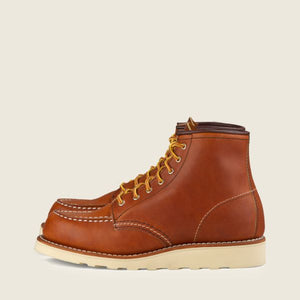 "RED WING- 6"" MOC TOE- ORO LEGACY BOOT"