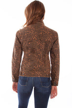 Load image into Gallery viewer, SCULLY- LEOPARD DENIM JACKET
