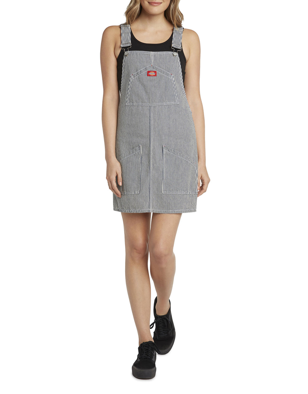 DICKIES- HICKORY STRIPED OVERALLS