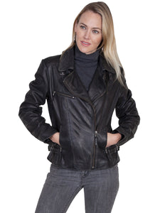 SCULLY- MOTO LEATHER JACKET