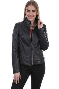 SCULLY- BLACK LEATHER JACKET