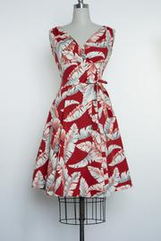 HEART OF HAUTE- MARIE DRESS TROPICAL RED