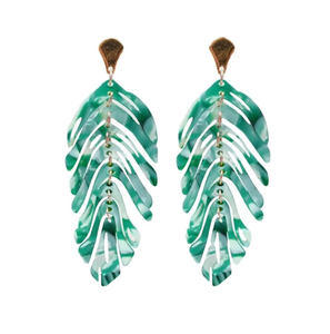 ST. ARMANDS- PALM LEAF EARRINGS