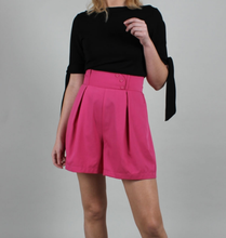 Load image into Gallery viewer, VOODOO VIXEN- BARBIE PINK HIGH WAISTED SHORTS