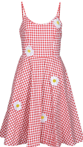 VOODOO VIXEN- PICNIC DAISY DRESS