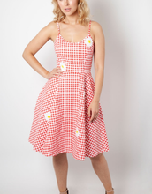 Load image into Gallery viewer, VOODOO VIXEN- PICNIC DAISY DRESS