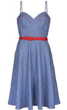 Load image into Gallery viewer, VOODOO VIXEN- NAUTICAL CHERRY DRESS