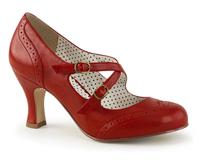 PIN UP COUTURE- FLAPPER PUMPS