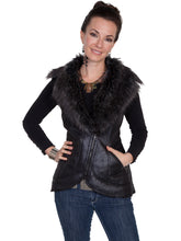 Load image into Gallery viewer, SCULLY- FAUX FUR VEST