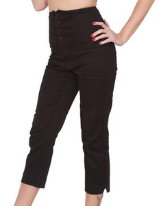 STEADY- HI-WAIST CAPRI
