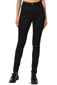 DICKIES- SKINNY HIGH RISE BLACK