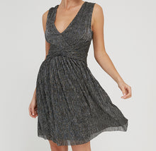 Load image into Gallery viewer, DEX- METALLIC KNOT DRESS