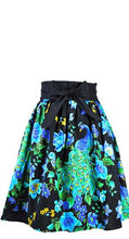 Load image into Gallery viewer, HEART OF HAUTE- PEACOCK SKIRT