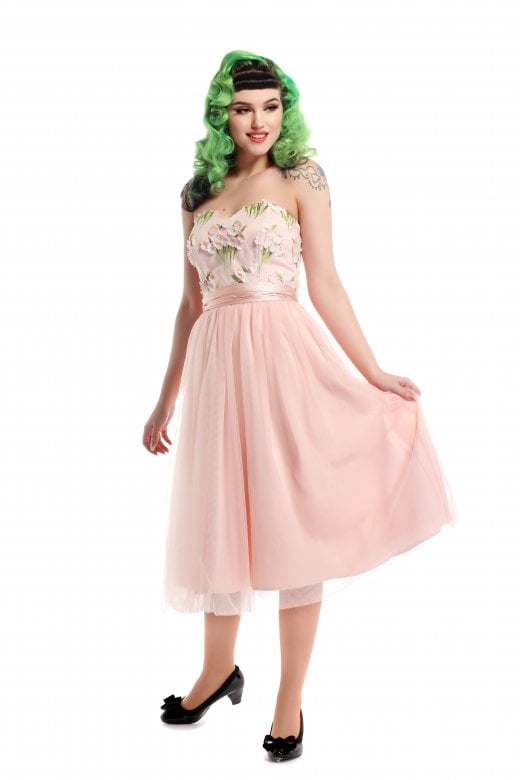 COLLECTIF- BLOSSOM FLOWER DRESS