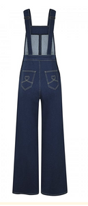 COLLECTIF- THELMA DENIM OVER-ALLS