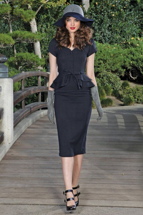 STOP STARING- JEANNETTE FITTED DRESS