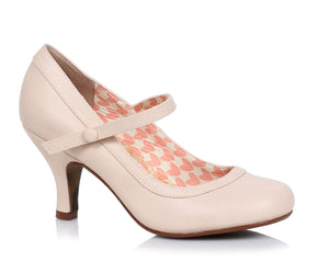 BETTIE PAGE- BETTIE NUDE PUMPS