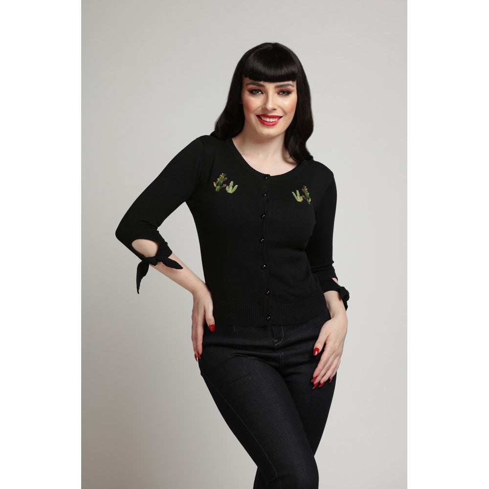 COLLECTIF- SALLY CACTUS CARDIGAN