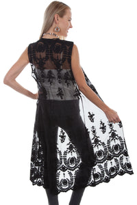 SCULLY- LACE DUSTER IN IVORY OR BLACK