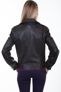 SCULLY LEATHER- MOTO JACKET