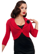 Load image into Gallery viewer, STEADY CLOTHING- MARILYN CROP SHRUG